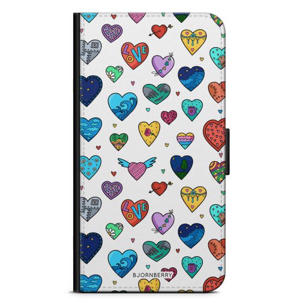 Bjornberry Plånboksfodral OnePlus 3 / 3T - Hjärtan