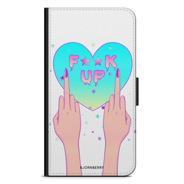 Bjornberry Plånboksfodral OnePlus 5 - F**K UP