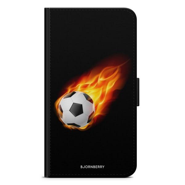 Bjornberry Plånboksfodral OnePlus 5 - Fotboll