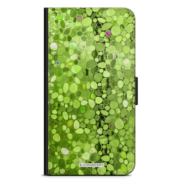 Bjornberry Plånboksfodral OnePlus 5 - Stained Glass Grön