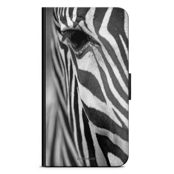 Bjornberry Plånboksfodral OnePlus 5 - Zebraöga