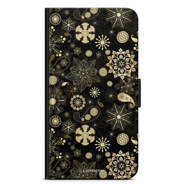 Bjornberry Plånboksfodral OnePlus 6 - Julglitter