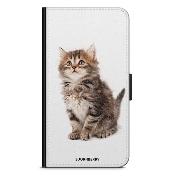 Bjornberry Plånboksfodral OnePlus 6 - Söt Kattunge