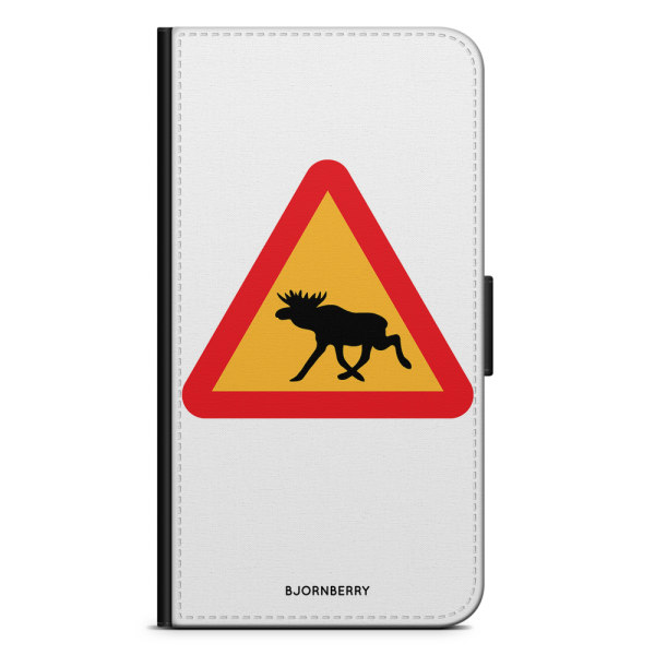 Bjornberry Plånboksfodral OnePlus 6T - Älgskylt