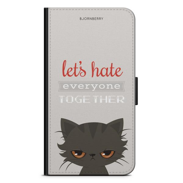 Bjornberry Plånboksfodral OnePlus 6T - Arg katt