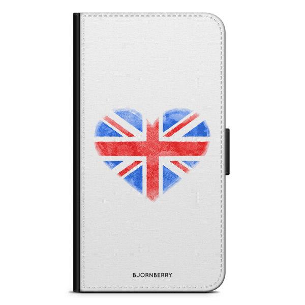 Bjornberry Plånboksfodral OnePlus 6T - UK Hjärta