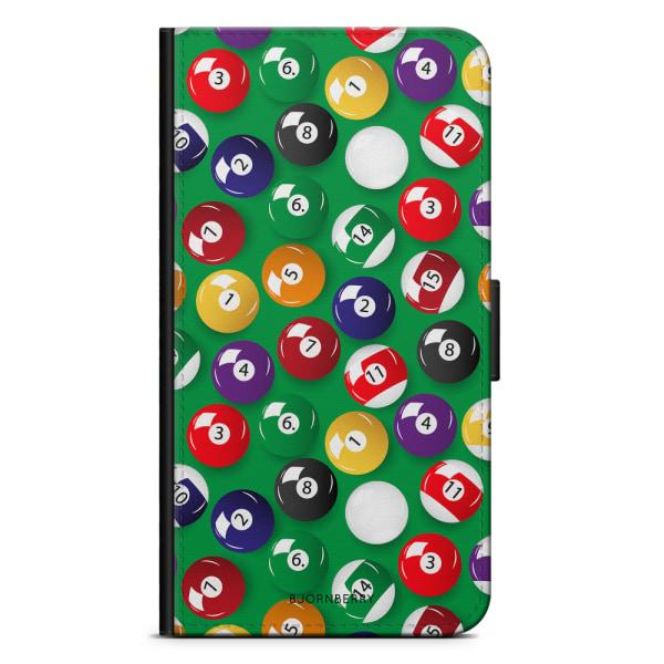 Bjornberry Plånboksfodral OnePlus 7 - Biljardbollar