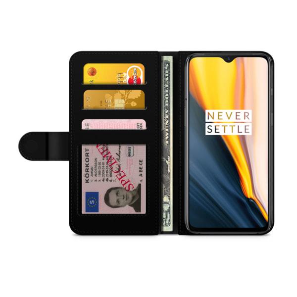 Bjornberry Plånboksfodral OnePlus 7 - Världskarta
