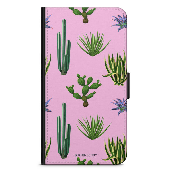 Bjornberry Plånboksfodral OnePlus 7 - Kaktusar