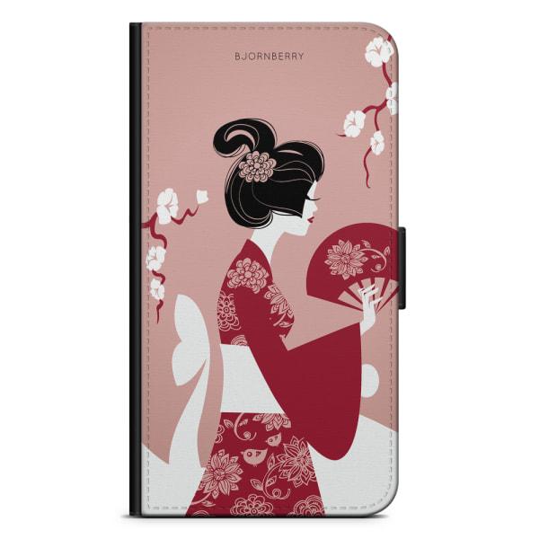 Bjornberry Plånboksfodral OnePlus 8 - Japansk Kvinna