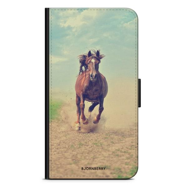Bjornberry Plånboksfodral OnePlus 8 Pro - Häst