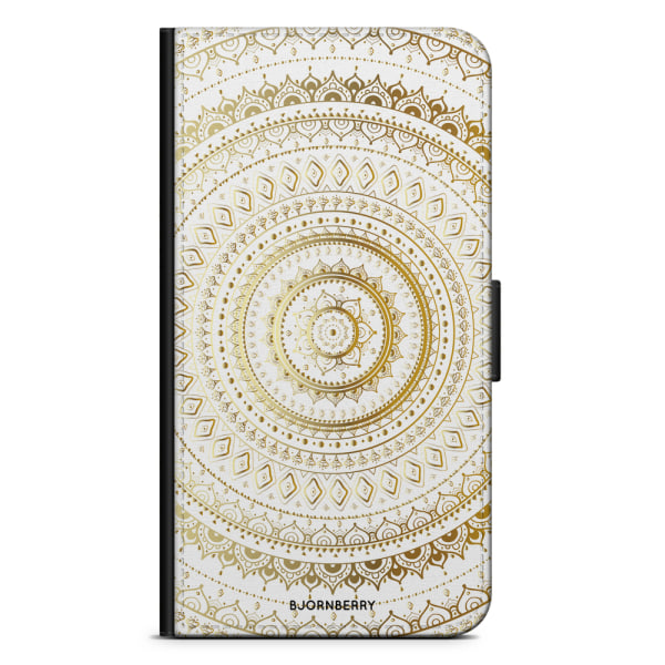 Bjornberry Plånboksfodral OnePlus Nord - Guld Mandala