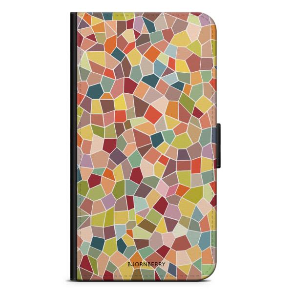 Bjornberry Plånboksfodral Sony Xperia 10 - Mosaik