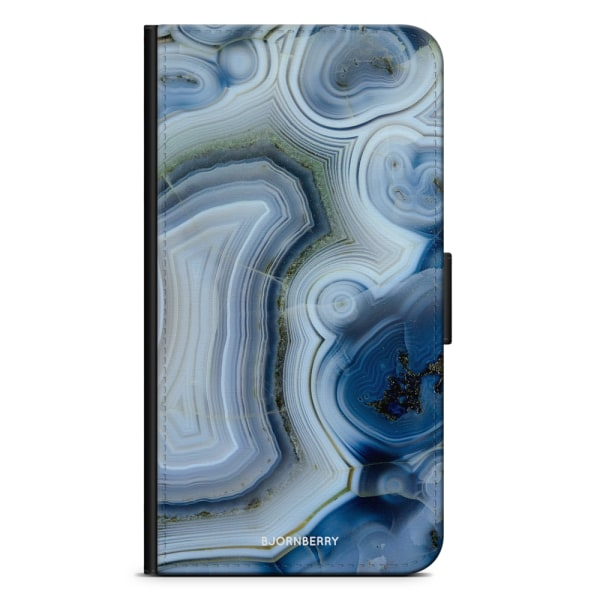 Bjornberry Plånboksfodral Sony Xperia X - Blå Sten