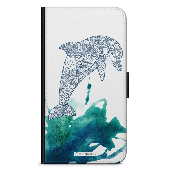 Bjornberry Plånboksfodral Sony Xperia XA - Mandala Delfin