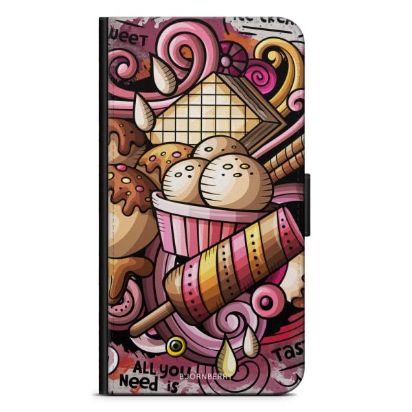 Bjornberry Plånboksfodral Sony Xperia XA - Need Ice Cream