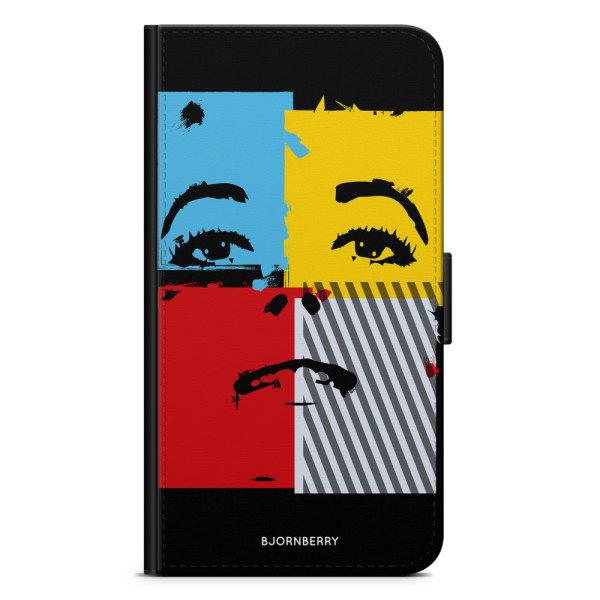 Bjornberry Plånboksfodral Sony Xperia XA - Pop-konst