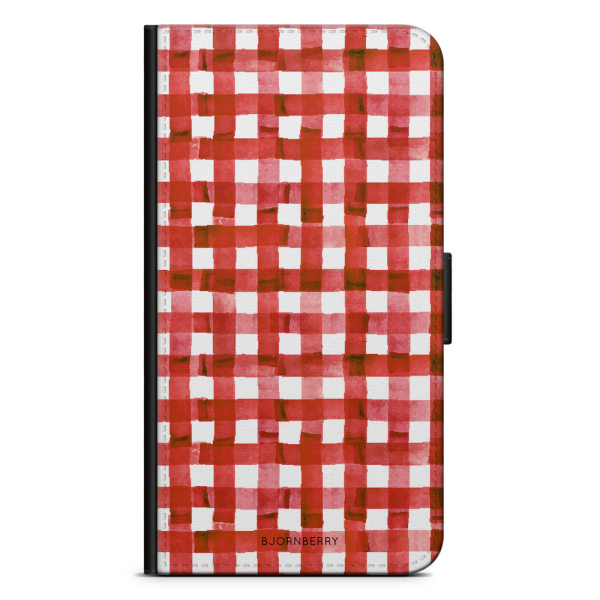 Bjornberry Plånboksfodral Sony Xperia XA - Röda Ränder