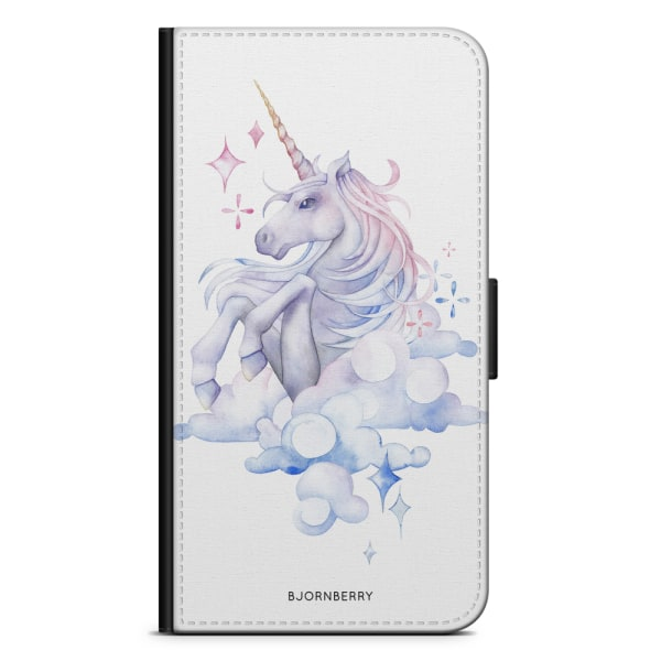 Bjornberry Plånboksfodral Sony Xperia XA - Vattenfärg Enhörning