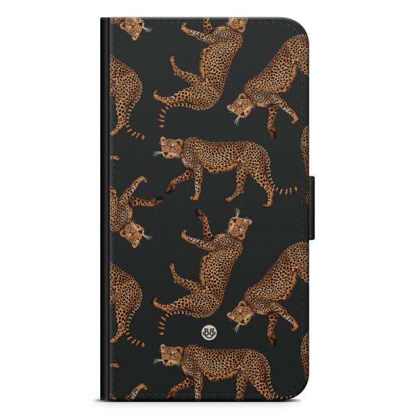 Bjornberry Plånboksfodral Sony Xperia XA1 - Cheetah