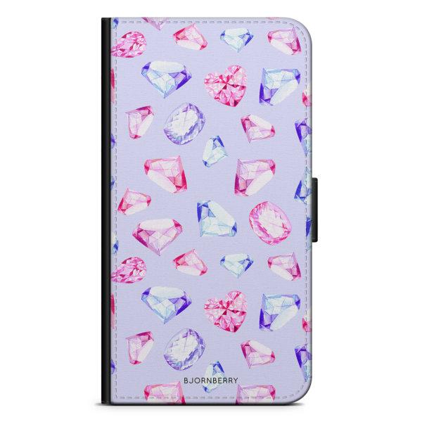 Bjornberry Plånboksfodral Sony Xperia XA1 - Diamanter