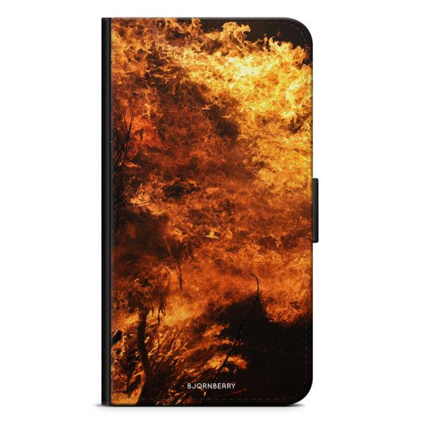 Bjornberry Plånboksfodral Sony Xperia XA1 - Eld