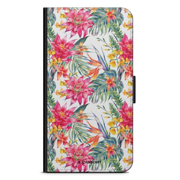 Bjornberry Plånboksfodral Sony Xperia XA1 - Exotiska Blommor