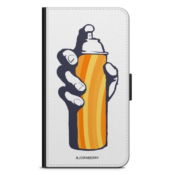 Bjornberry Plånboksfodral Sony Xperia XA1 - Sprayburk