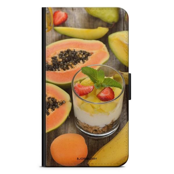 Bjornberry Plånboksfodral Sony Xperia XA1 - Tropiska Frukter