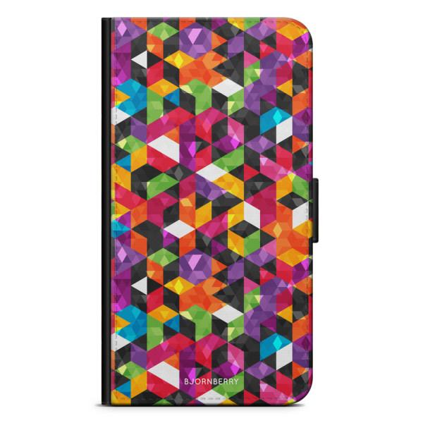 Bjornberry Plånboksfodral Sony Xperia XA2 - Abstrakt Mönster