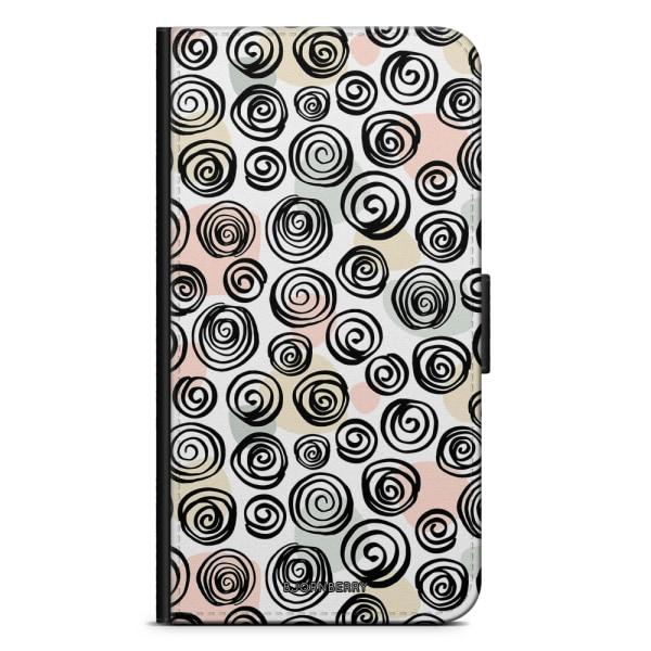 Bjornberry Plånboksfodral Sony Xperia XA2 - Cirkelmönster