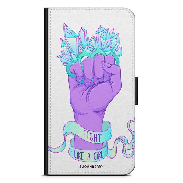Bjornberry Plånboksfodral Sony Xperia XA2 - Fight Like A Girl