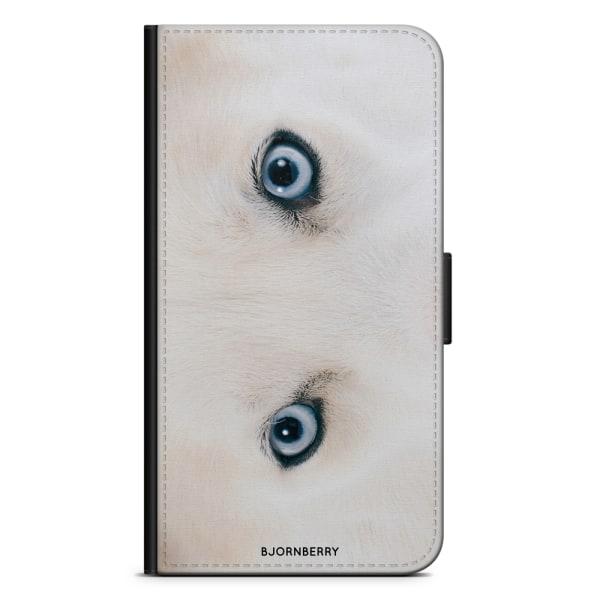 Bjornberry Plånboksfodral Sony Xperia XA2 - Huskey Ögon