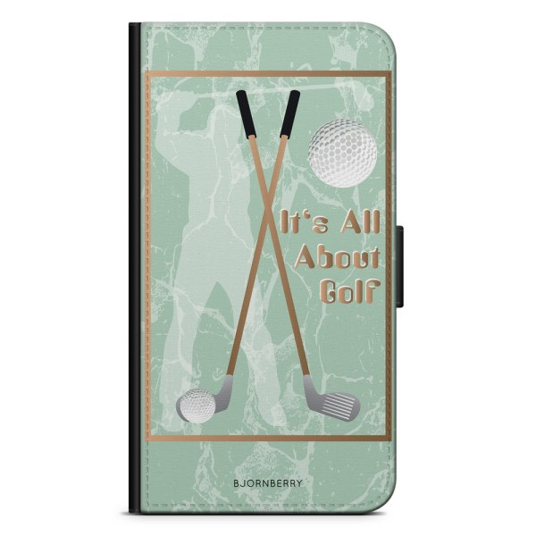 Bjornberry Plånboksfodral Sony Xperia XA2 - It's All About Golf