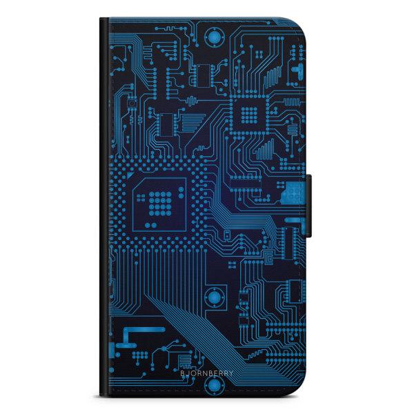 Bjornberry Plånboksfodral Sony Xperia XA2 - Moderkort