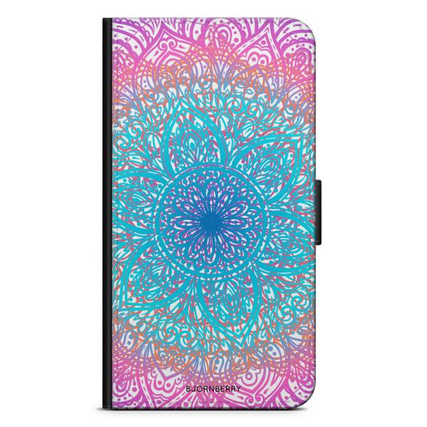 Bjornberry Plånboksfodral Sony Xperia XA2 - Pastell Mandala