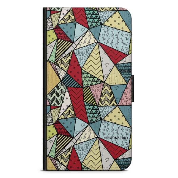 Bjornberry Plånboksfodral Sony Xperia XA2 - Polygoner