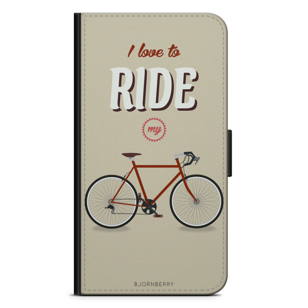 Bjornberry Plånboksfodral Sony Xperia XA2 - Ride My Bicycle