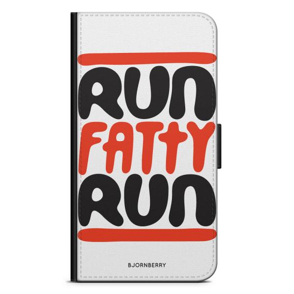 Bjornberry Plånboksfodral Sony Xperia XA2 - Run fatty run