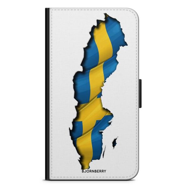 Bjornberry Plånboksfodral Sony Xperia XA2 - Sverige