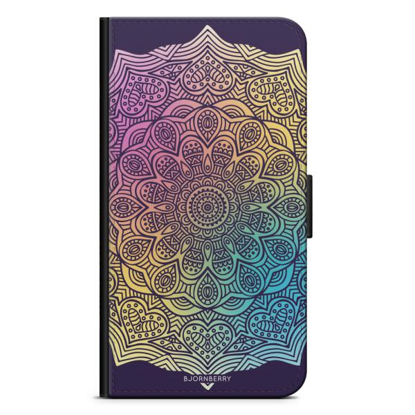 Bjornberry Plånboksfodral Sony Xperia XZ2 - Färg Mandala