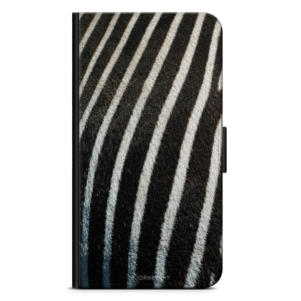 Bjornberry Plånboksfodral Sony Xperia XZ2 - Zebramönster