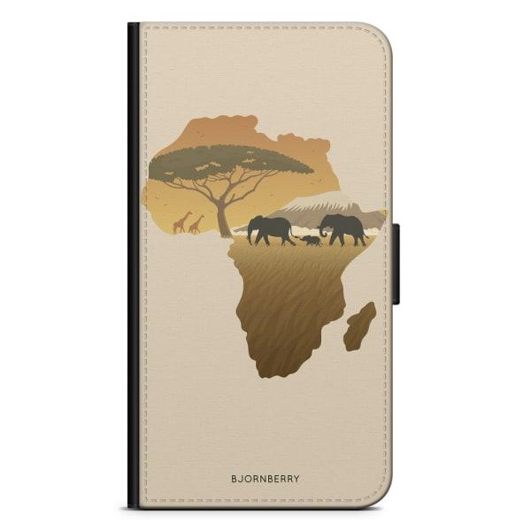 Bjornberry Plånboksfodral Sony Xperia XZ3 - Afrika Brun