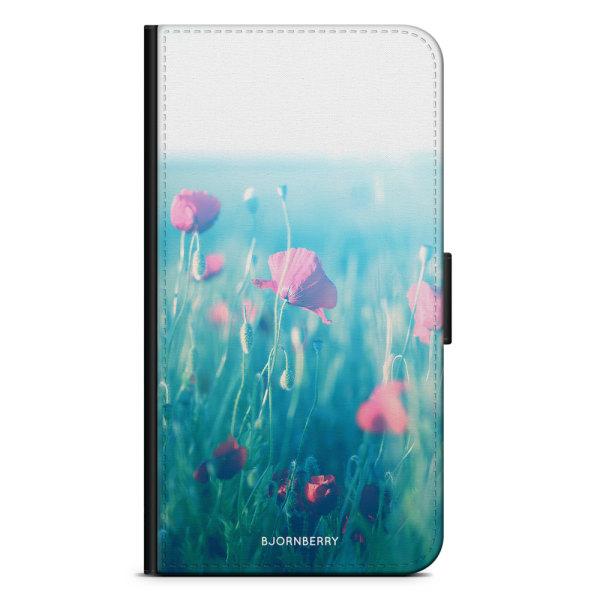 Bjornberry Plånboksfodral Sony Xperia XZ3 - Blommor