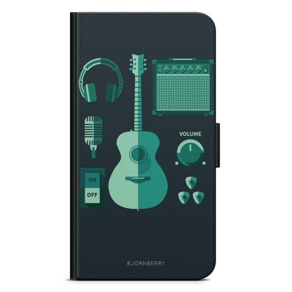 Bjornberry Plånboksfodral Sony Xperia XZ3 - Gitarr