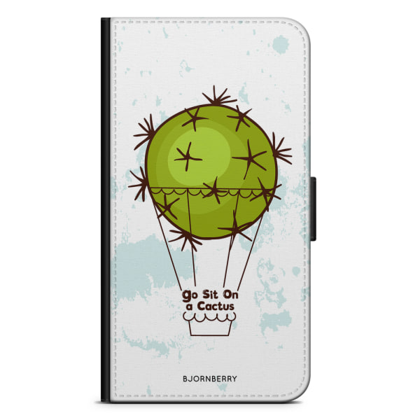 Bjornberry Plånboksfodral Sony Xperia XZ3 - Go sit on a cactus