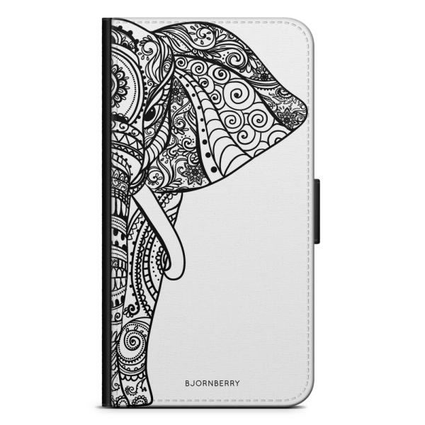 Bjornberry Plånboksfodral Sony Xperia XZ3 - Mandala Elefant
