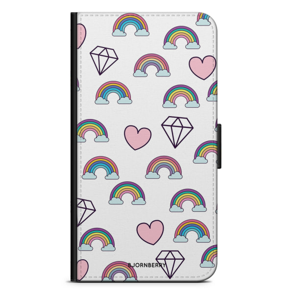 Bjornberry Samsung Galaxy Note 10 Plus - Regnbågar Diamanter