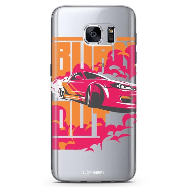 Bjornberry Samsung Galaxy S6 Edge TPU Skal -Burn out