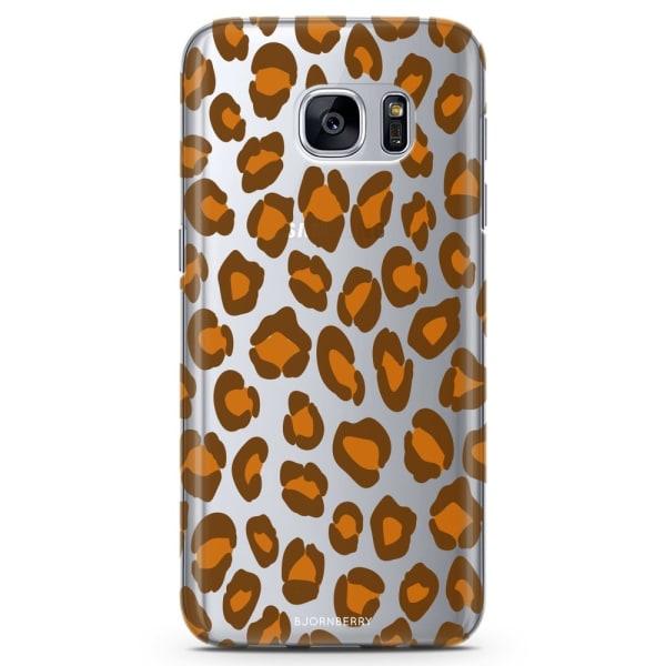 Bjornberry Samsung Galaxy S6 Edge TPU Skal -Leopard